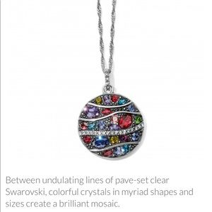 Brighton trust your journey wave necklace NWT